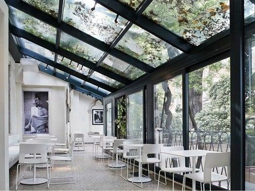 Venezia inaugurato il nuovo peggy guggenheim caf for Design della casa di 850 piedi quadrati
