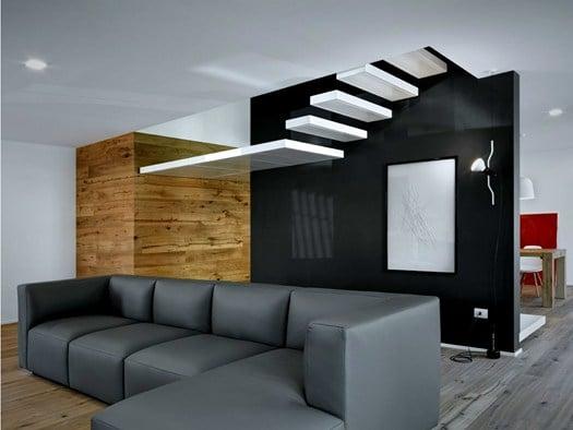 Sondrio alfredo vanotti firma il progetto 39 interno i 39 for Piani di casa per case su due livelli