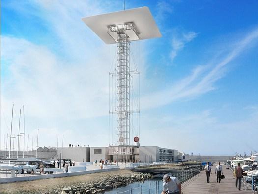 Presentata a genova la nuova torre piloti di renzo piano for Progetti di renzo piano