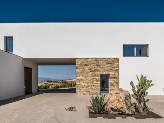 La 39 cantina su entu 39 di casciu rango architetti - Parcella architetto ...