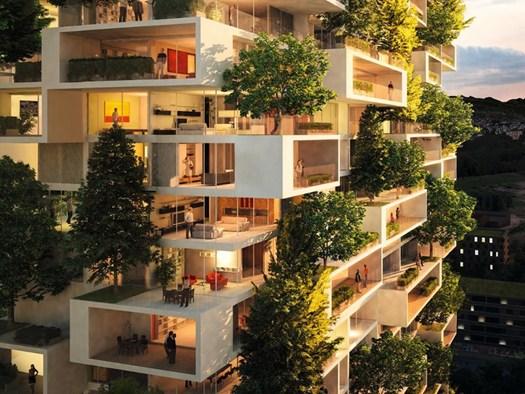 Svizzera nascer a losanna un nuovo 39 bosco verticale 39 for Buro lausanne