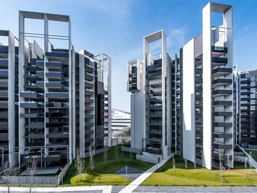 Milano: l'ex Alfa Romeo trasformata in Parco Vittoria