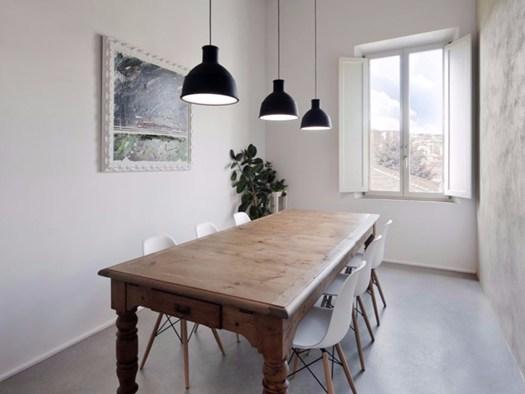 Ristrutturazione di un appartamento su 2 livelli a Siena