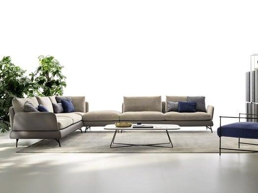 Gli anni 70 rivivono nel divano jasper for Di tre italia