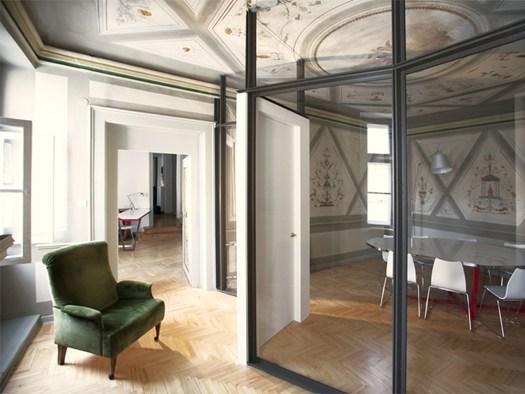 archimeccanica per uno studio legale nel centro storico di udine. Black Bedroom Furniture Sets. Home Design Ideas