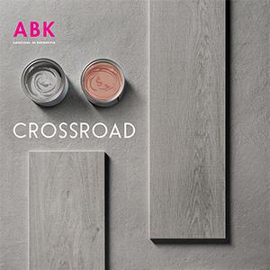 Nuova collezione Crossroad by ABK: superfici dal sapore minimalista