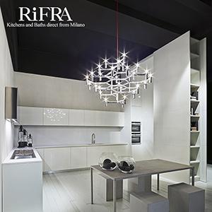 Il bianco in cucina secondo RiFRA: eleganza e design