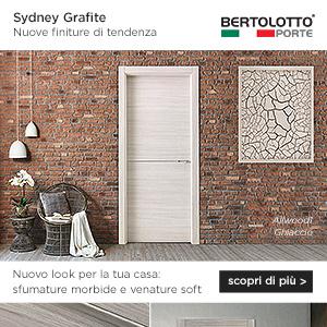 Bertolotto Porte presenta Sydney Grafite: nuovo look per la tua casa