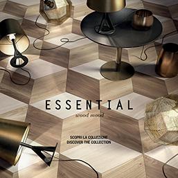 Essenze lignee in 4 nuove colorazioni: Essential by Ariana Ceramica