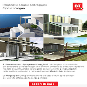 Nuove Pergozip BT Group: outdoor experience unica
