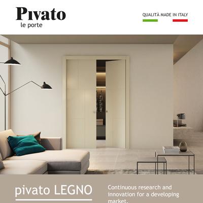Porte Pivato in legno: qualità made in Italy