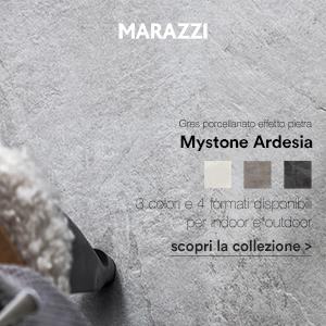 Gres porcellanato effetto pietra Mystone Ardesia