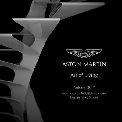Scala elicoidale Aston Martin