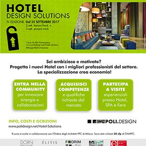Progetta i nuovi hotel con i migliori professionisti del settore