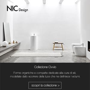 Collezione bagno Ovvio by Nic Design