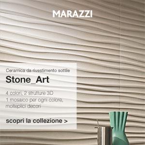 Ceramica da rivestimento sottile Stone_Art Marazzi