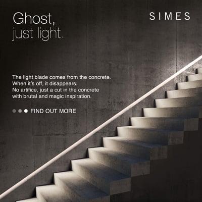 Una lama di luce nel cemento: Ghost by Simes
