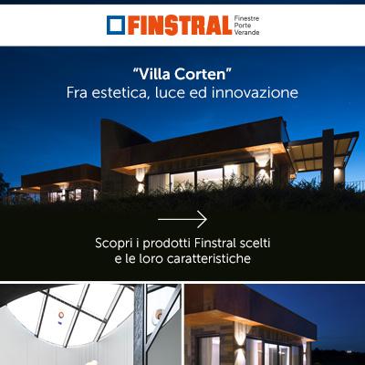 Finstral per Villa Corten: estetica, luce ed innovazione