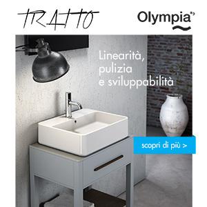 Nuova collezione lavabi TRATTO by Olympia Ceramica