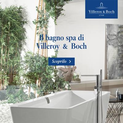 Il bagno spa di Villeroy & Boch: vasche da bagno
