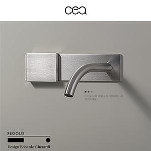 Miscelatore idroprogressivo a parete REGOLO by Ceadesign