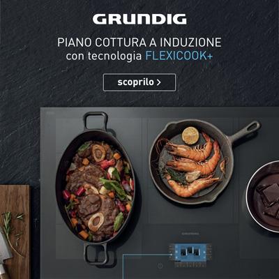 Un piano a induzione, infinite possibilità di cucinare
