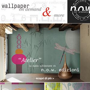 Carte da parati Atelier by N.O.W. Edizioni