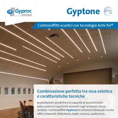 Controsoffitti Gyptone Activ'Air: scopri la combinazione perfetta