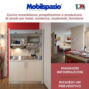 Arredi contract e cucine monoblocco Mobilspazio