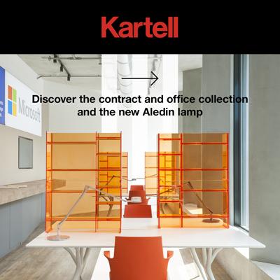 Kartell: collezioni contract e office