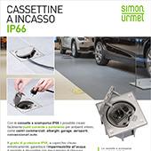 Cassette a pavimento IP66