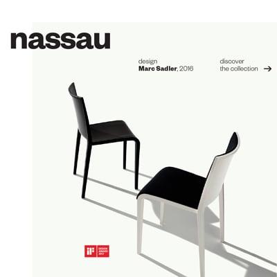 Sedute Nassau by Metalmobil