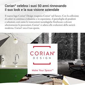 Corian si rinnova: look, prodotti e nuove estetiche