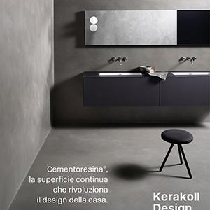 Cementoresina, la superficie continua che rivoluziona il design della casa