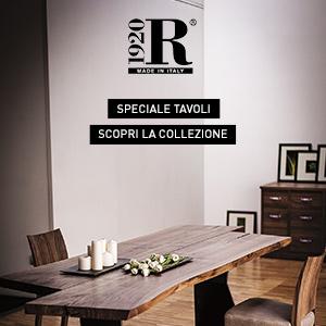 Collezione tavoli in legno massello by Riva 1920