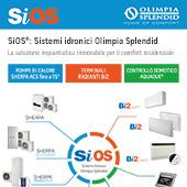 Sistemi idronici Olimpia Splendid SiOS per il residenziale