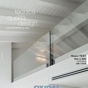 Profilo per parapetti Nuova Oxidal: Tecnica, qualità, design