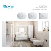 Roca Inspira: lavabi e sanitari di ultima generazione