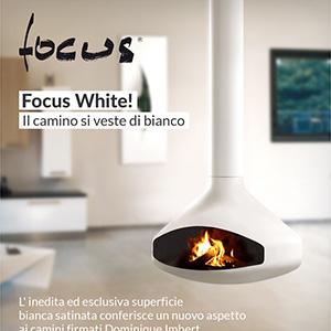 Il camino si veste di bianco: Focus White