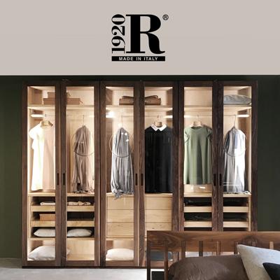 Riva 1920: armadi artigianali in legno di cedro naturale
