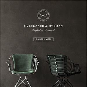 Sedute fatte a mano in pelle e metallo: Wire by Overgaard & Dyrnam