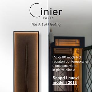 Termoarredi in pietra olicale Cinier: scopri i nuovi modelli 2018