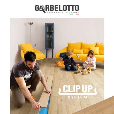 Il parquet in modo semplice e veloce: Clip Up System by Garbelotto