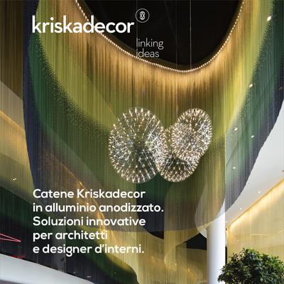 Catene decorative in alluminio anodizzato by Kriskadecor