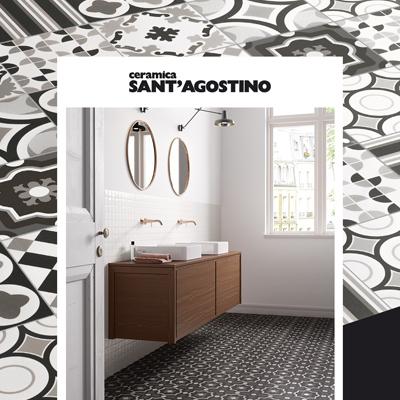 Ceramica Sant'Agostino presenta Patchwork: scarica il catalogo