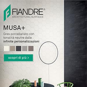 Gres porcellanato dalle infinite personalizzazioni MUSA+ by GranitiFiandre