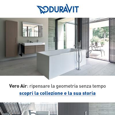 Duravit Vero Air: forme decise ed essenziali