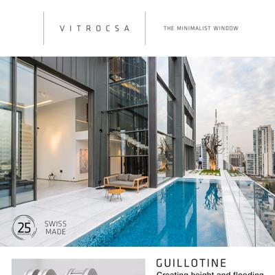 Finestre minimali Vitrocsa: altezze quasi illimitate