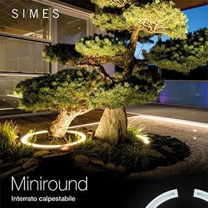 Suggestive cornici luminose curve: Simes Miniround
