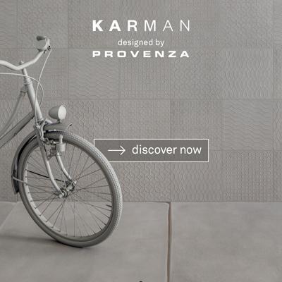La reinterpretazione della ceramica: collezione Karman by Provenza
